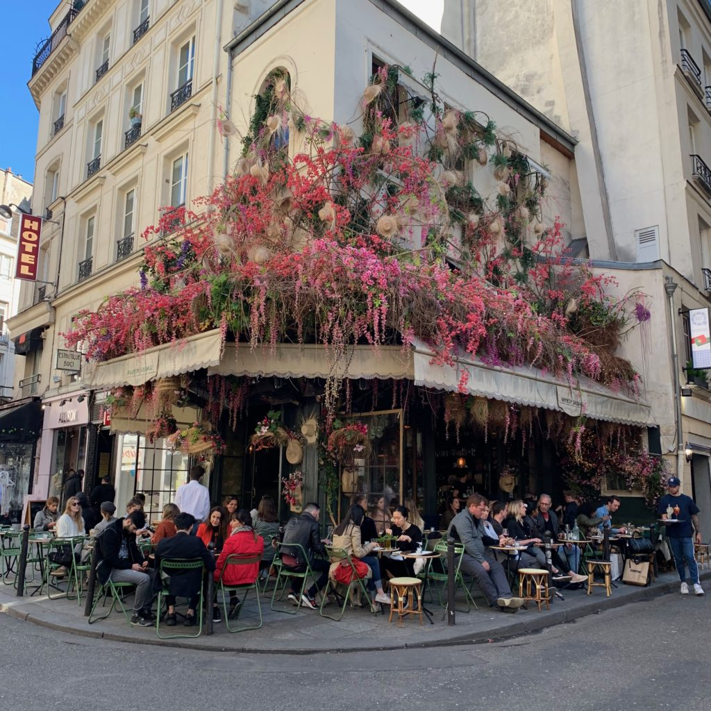 Paris en terrasse rue de buccin