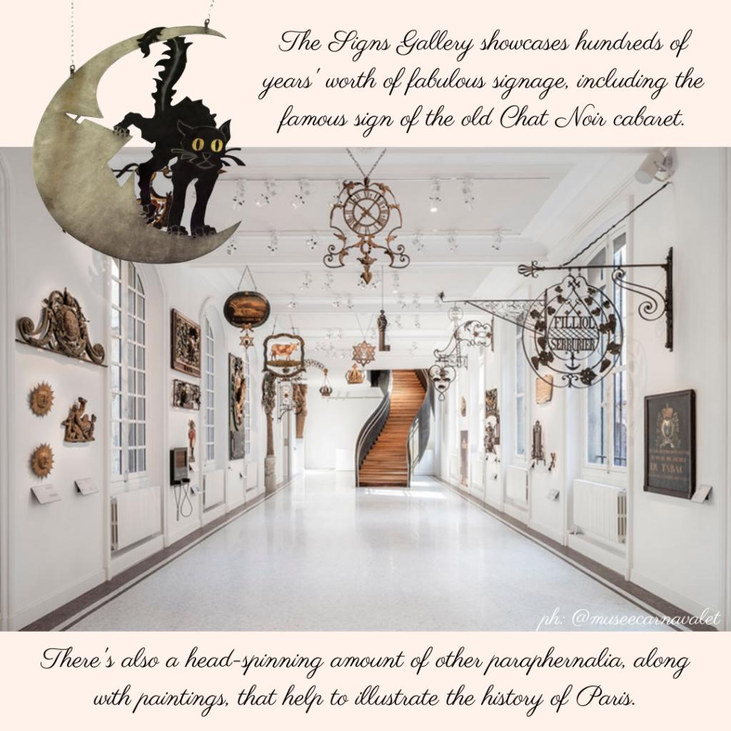 Musee Carnavalet Signs Gallery
