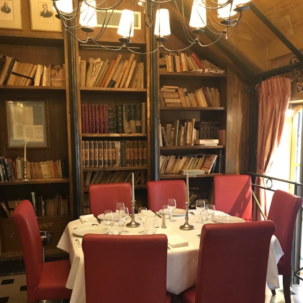 Top Paris Restaurant Interiors