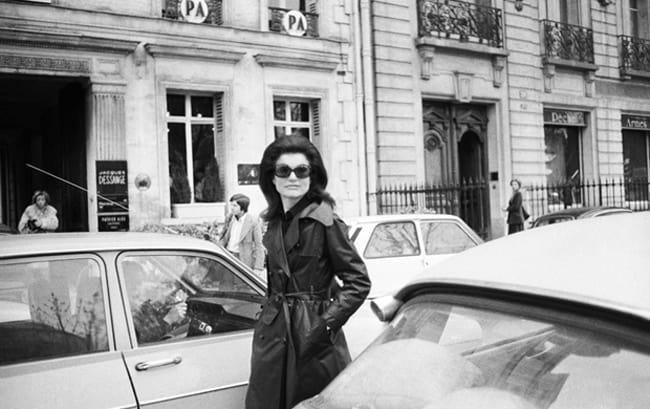 Jacqueline Onassis Paris