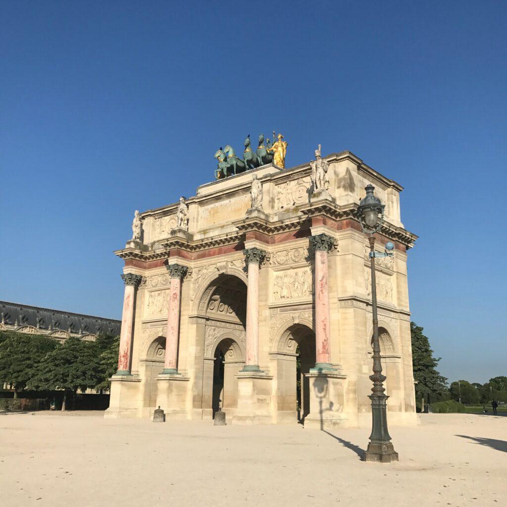 Arc de Triomphe du Carrousel Pink Marble